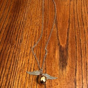 HP snitch necklace
